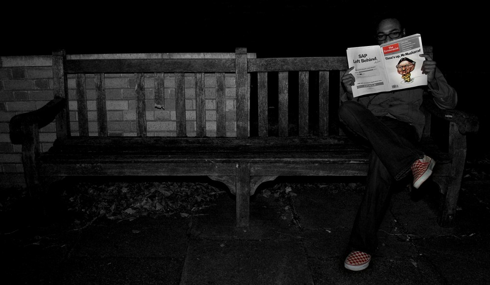 photoblog image Night Reader
